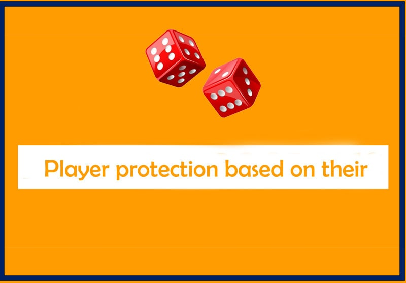 Player protection based on their behaviour